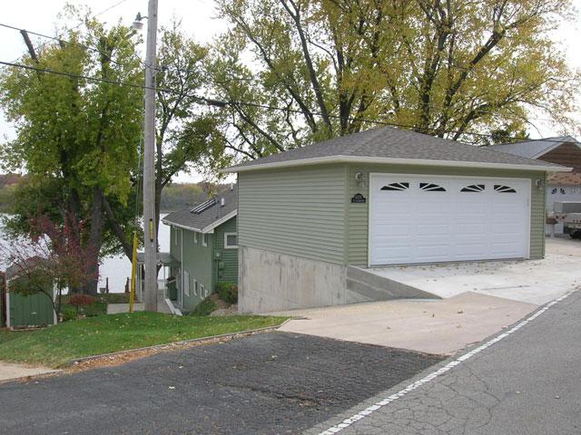 Coach House Garages of Decatur - Hip Roof Garage
