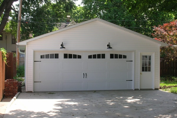 Carriage Door Two Car Coach House Garages